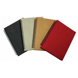 PU Wrap Wire-O Executive Notebook